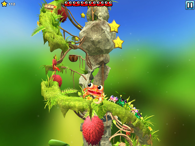 Screen z gry Mr. Crab 2 na iOS-a (iPad, iPhone)