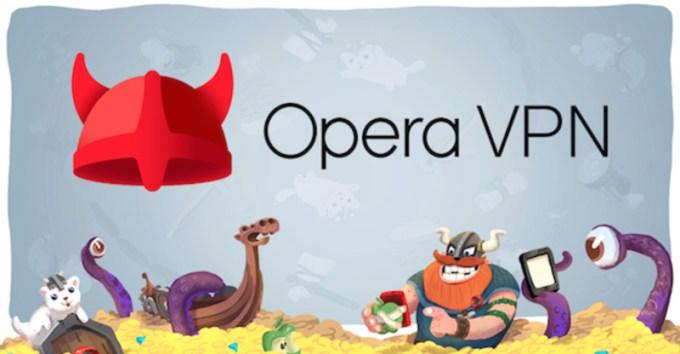 Opera VPN na iOS-a