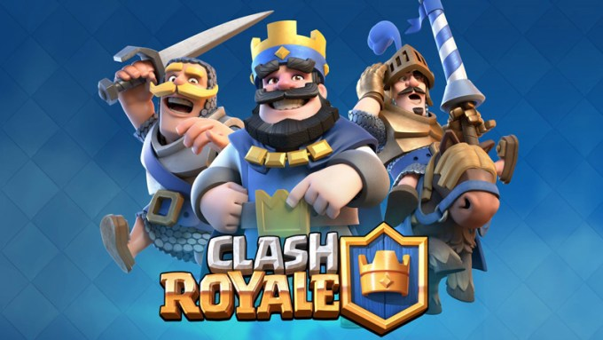 Gra mobilna Clash Royale od Supercell