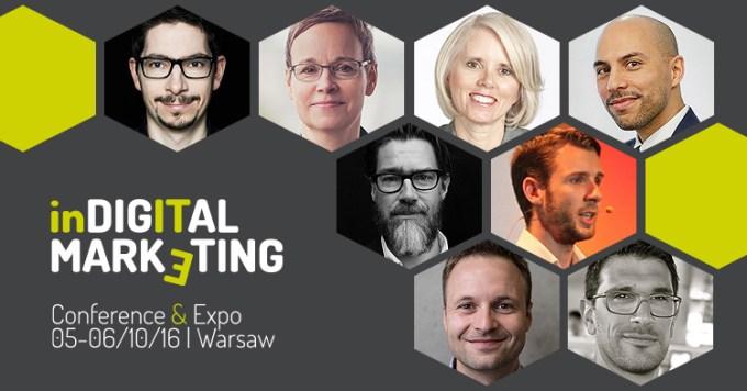 Indigital Marketing 2016 banner (konferencja)