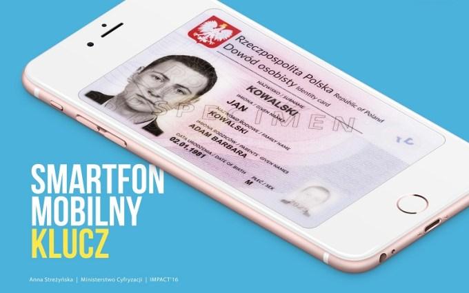 mID - dowód osobisty w smartfonie od 2017 roku w Polsce
