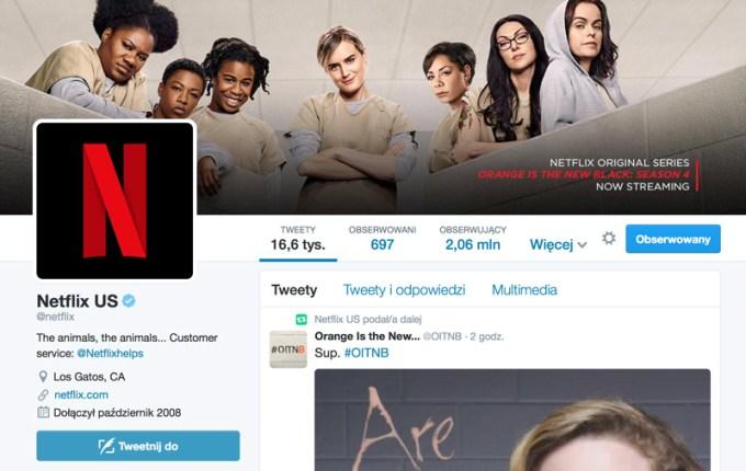 Nowa ikona Netflixa na Twitterze