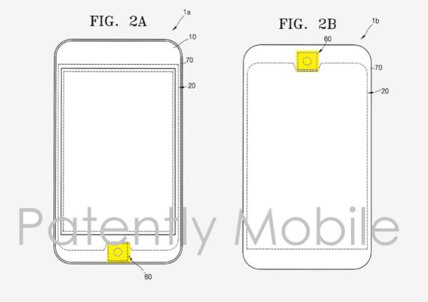 Samsung patentuje okrągły przycisk Home