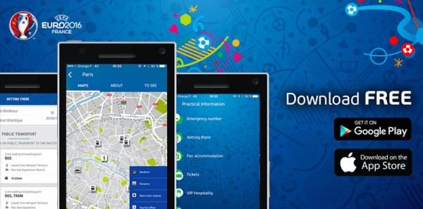 Aplikacja dla wybierających się na EURO 2016