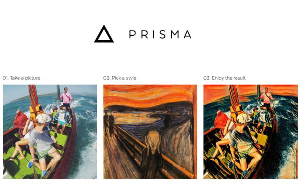 Prisma – zamieni zdjęcia w dzieła sztuki