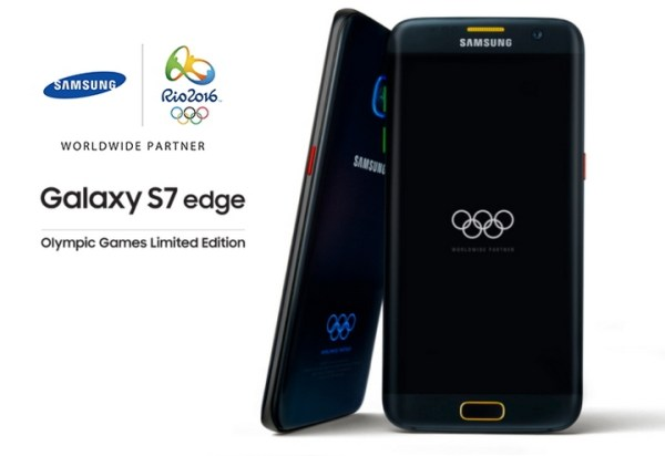 Samsung zapowiedział Galaxy S7 edge Olympic Edition 2016