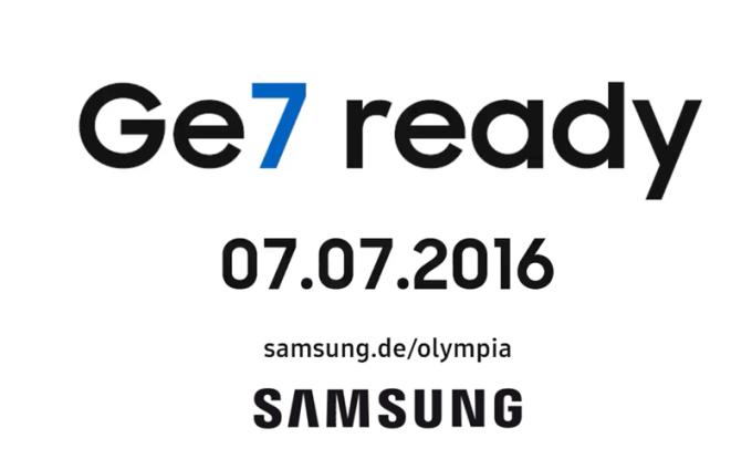 Samsung Ge7 Olympia (2016) - teaser