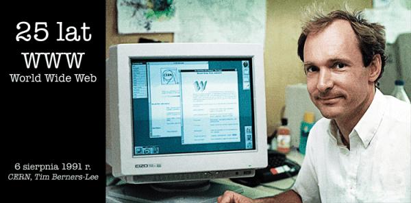 25 lat temu opublikowano pierwszą stronę WWW