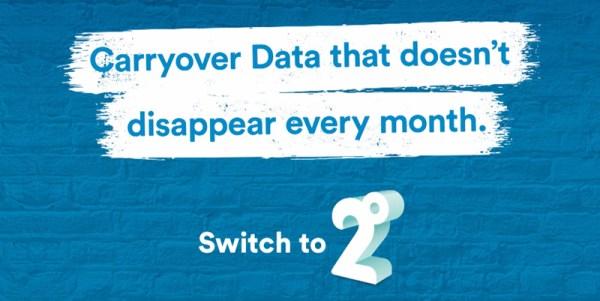 2degrees wyjaśnia, co może stać się z niewykorzystanym pakietem danych