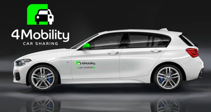 4Mobility -car sharing - samochód przez smartfona