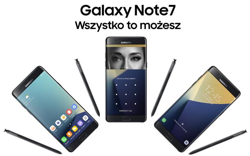 Galaxy Note7 - Wszystko to możesz