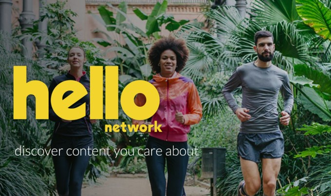 Hello Network - discover content you care about