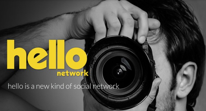 Hello Network - new kind of social network