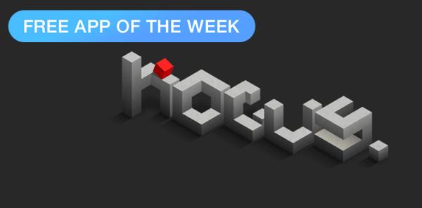 """""""hocus."""" aplikacją tygodnia w App Storze"""