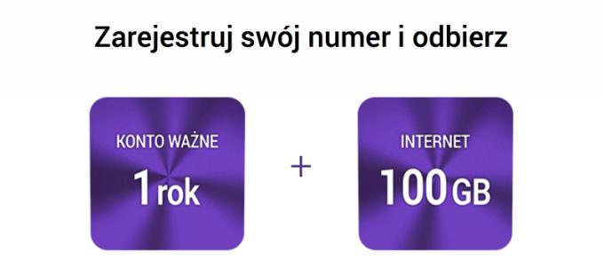 Oferta dla rejestrujących numer na kartę w Play Internet