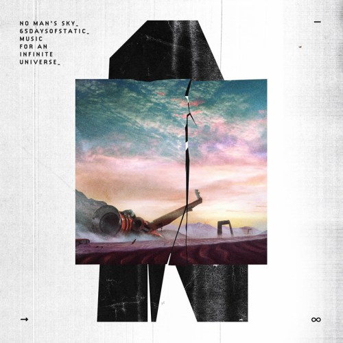 "Okładka albumu ""No Man's Sky: Music for an Infinite Universe"" od 65daysofstatic"
