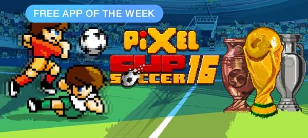 Pixel Cup Soccer 16 aplikacją tygodnia w App Storze
