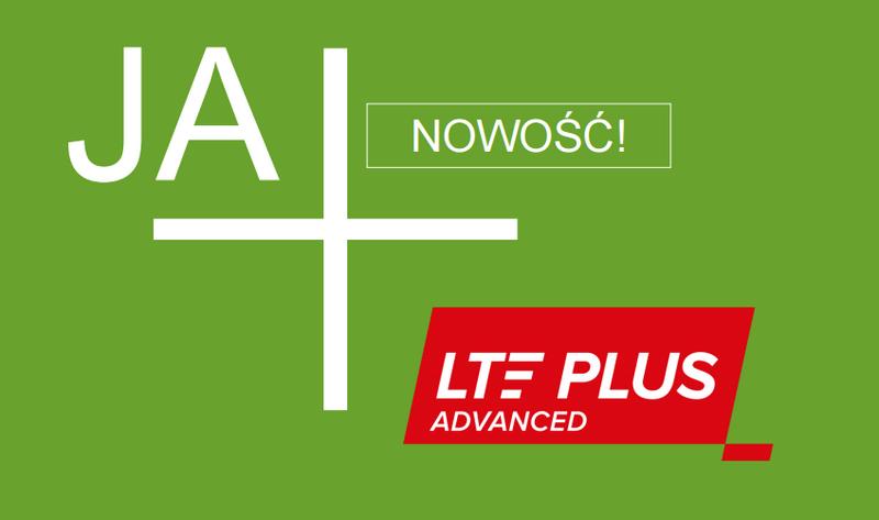 LTE Plus Advanced w sieci Plus