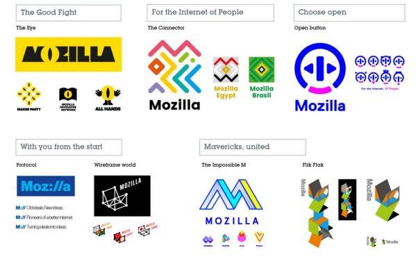 Nowe logo Mozilli wybiorą internauci