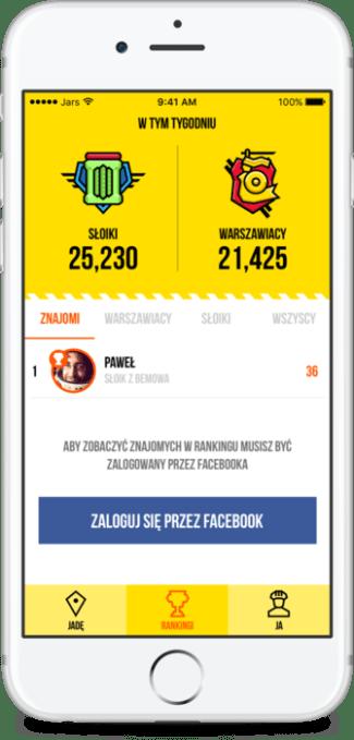 Screen aplikacji Ruwer