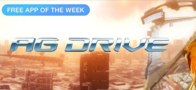 AG Drive - darmowa aplikacja tygodnia w sklepie App Store