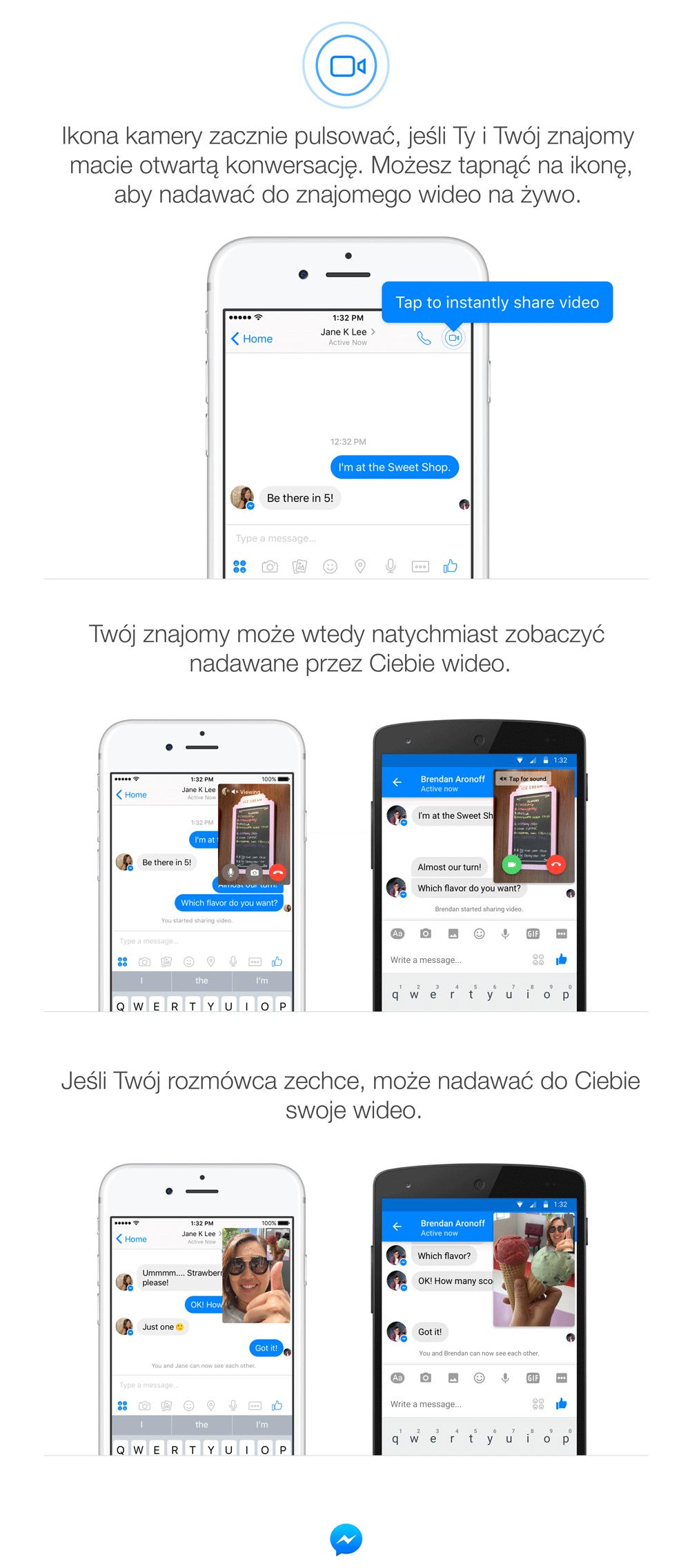 Jak korzystać z Instant Video w Facebook Messengerze?