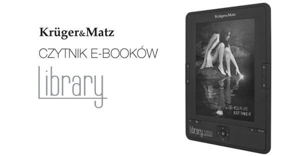 Krüger&Matz wprowadza Library – czytnik e-booków