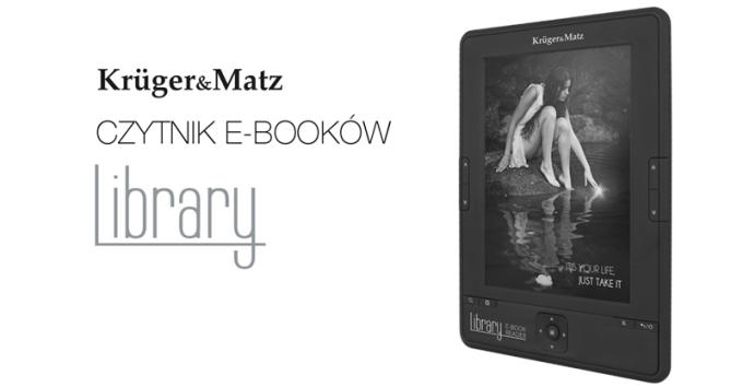 Czytnik e-booków Kruger&Matz Library