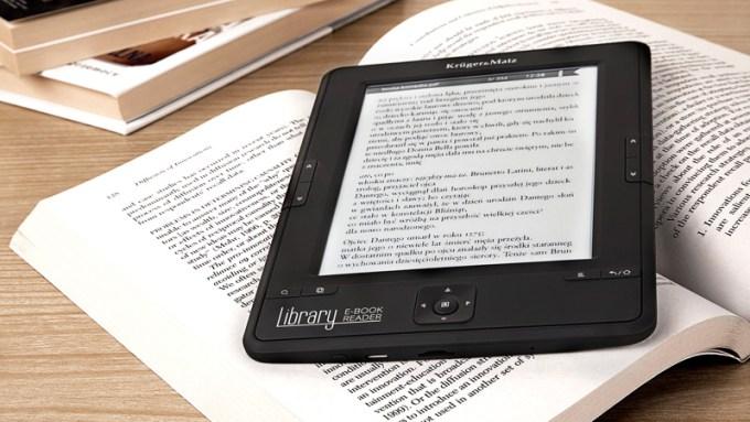 Zdjęcie e-czytnika K&M Library