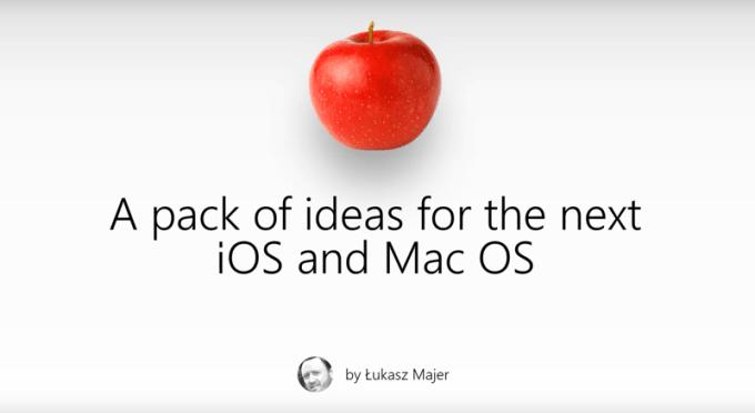 Pomysły Łukasza Majera na nowe funkcje systemu iOS i macOS