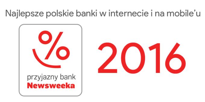 Ranking najlepszych banków w internecie i na smartfony (wg Newsweeka 2016)
