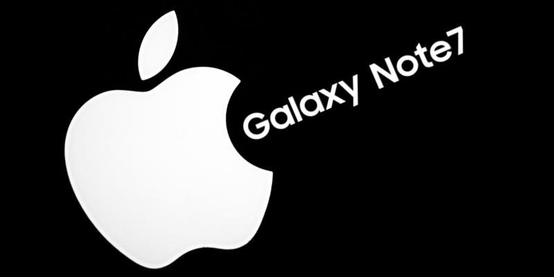 Samsung zrobił prezent Apple - wadliwa bateria w Galaxy Note7