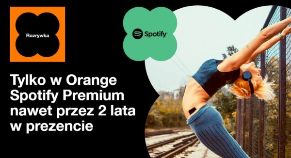 Spotify Premium w ofertach abonamentowych Orange