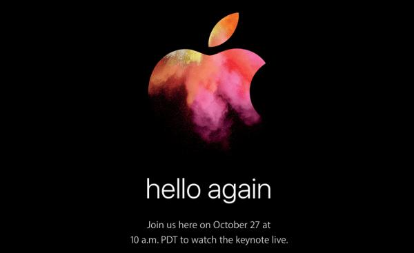 Hello Again: Apple zaprasza na konferencję 27 października