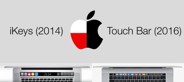 Touch Bar w MacBooku Pro ma polskie korzenie?