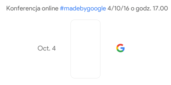 Oglądaj konferencję Google na żywo (4.10.2016)