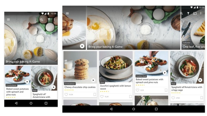 Kitchen Stories app - screen