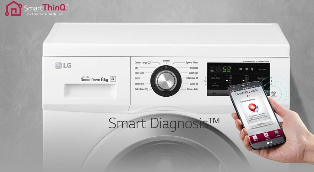 LG 6 Motion - Smart Diagnosis App
