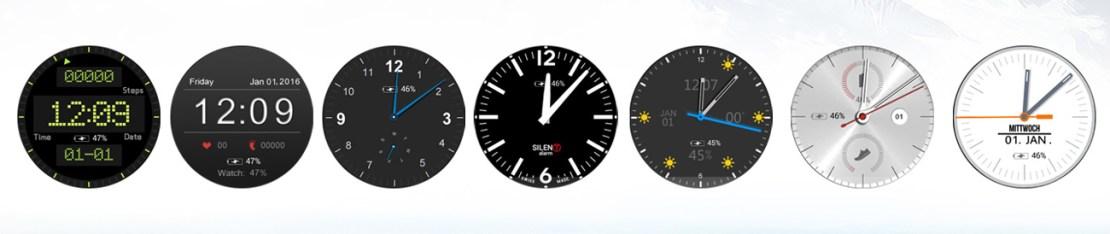 Motywy smartwatcha NO.1 D5+