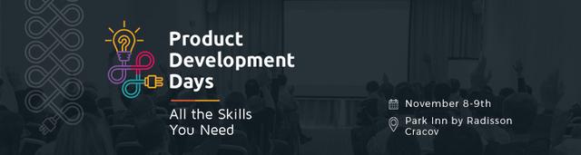 Banner Product Development Days 2016 (Kraków)