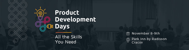 Banner Product Development Days 2016 (Kraków)