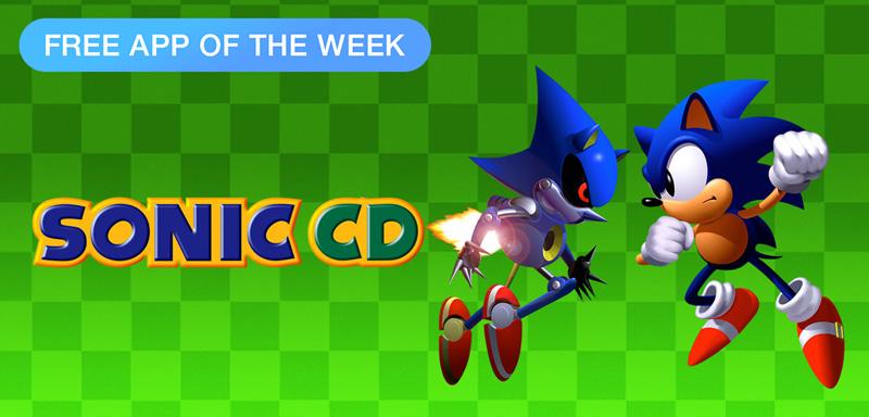 Sonic CD - free App of The Week App Store