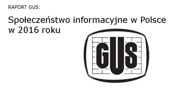Korzystanie z internetu stacjonarnego w Polsce (2016)