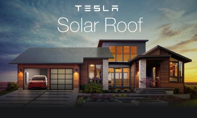 Dach solarny (Solar Roof) od Tesla