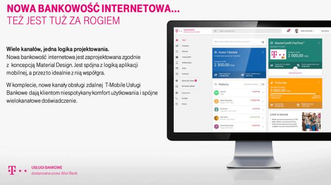 Nowa bankowość internetowa od T-Mobile Usługi Bankowe