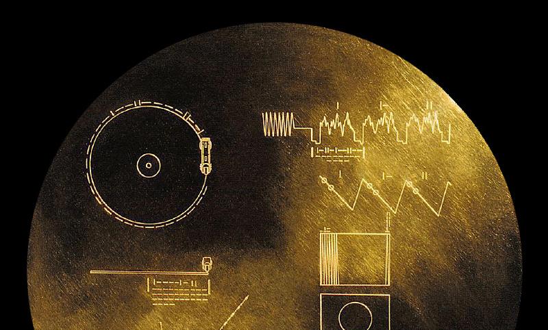 Złota płyta Voyager Golden Record (NASA 1977)