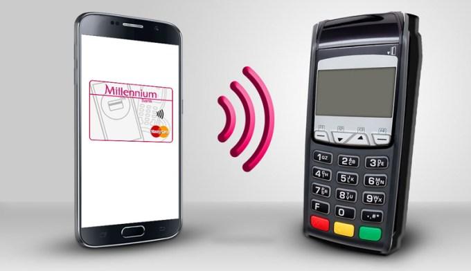 Płatności zbliżeniowe smartfonem HCE w Banku Millennium