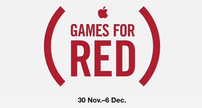 Apple Games for RED (30 listopada - 6 grudnia 2016 r.)