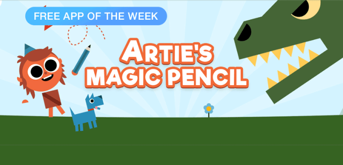 Artie's Magic Pencil - Free App of The Week (App Store)