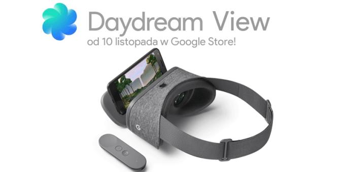 Daydream View od 10 listopada 2016 w Google Store